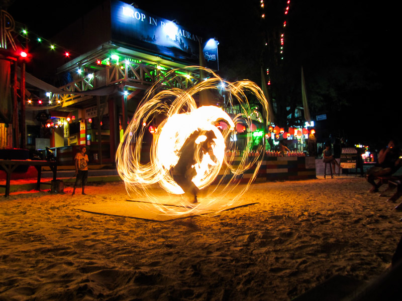 Fire Spinners!