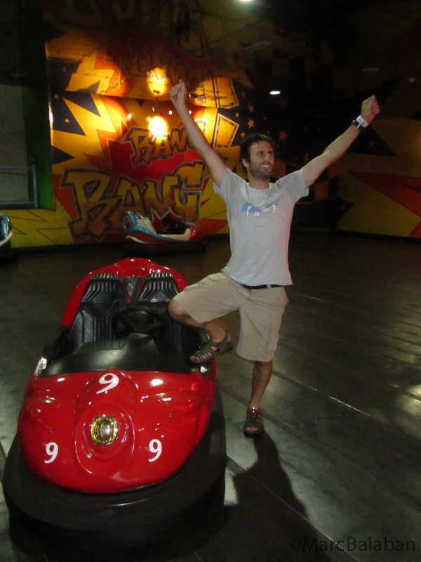 Hail to the king of bumper cars!
