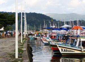 Paraty, Brazil -- Boats!