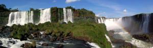 Iguassu Falls Stitched